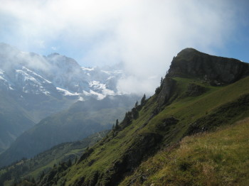 Map for Hiking the schilthorn