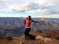Christy at Grand Canyon