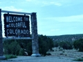 Entering Colorado