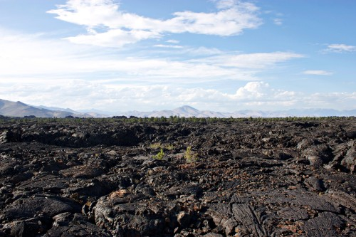 Craters of the Moon view