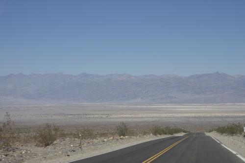 Death Valley roads