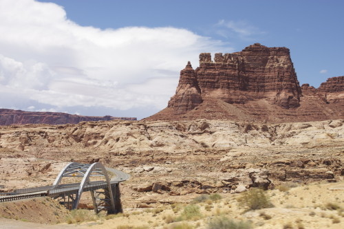 Driving to Capitol Reef National Park