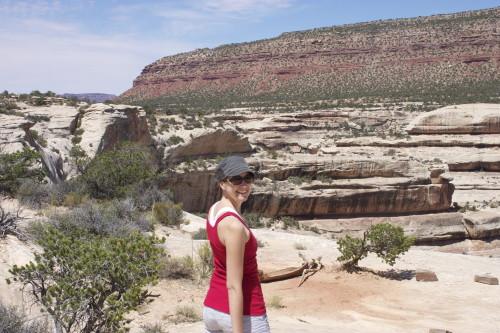 Natural Bridge -Christy hiking