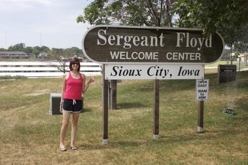 Sergeant Floyd Wlecome Center
