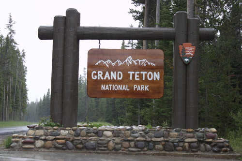 Teton Sign