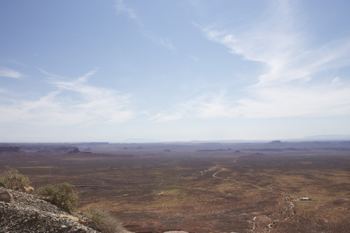 Valley of the Gods- view from high up