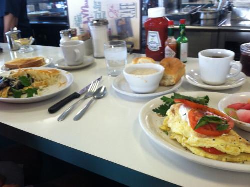 breakfast in Bakersfield