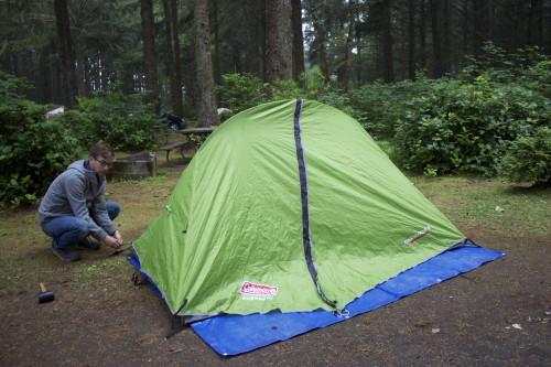 Camping at Bastendorff