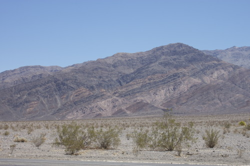 death valley desolate landscape