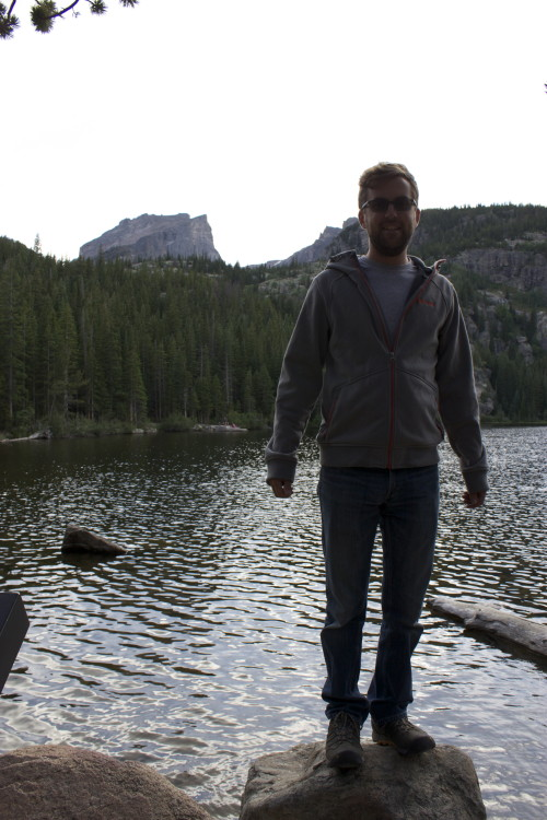 Bear Lake - Mark on rock