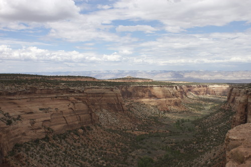View at Colorado National Monument