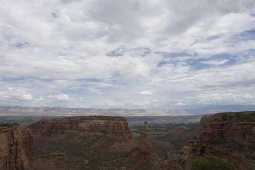 Viewpoint at Colorado National Monument