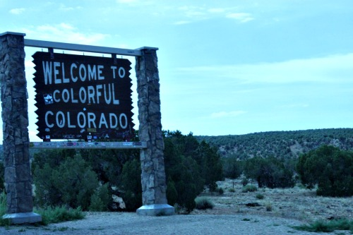 Colorado welcome