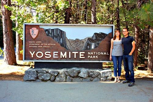 Yosemite park entrance