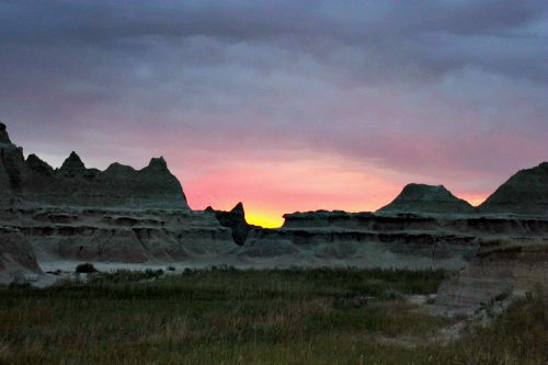 sunrise in the badlands final