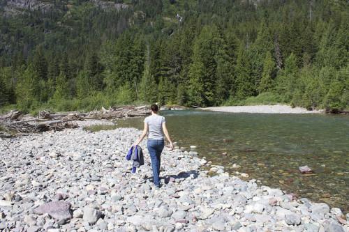 River in Glacier NP