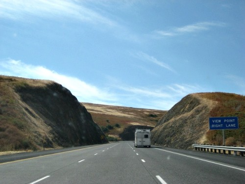 Driving Through Oregon