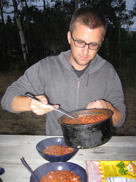 chili for dinner