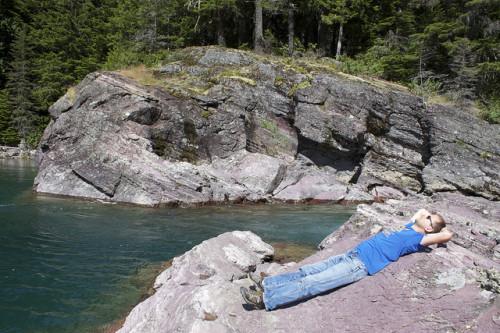 Napping in Glacier