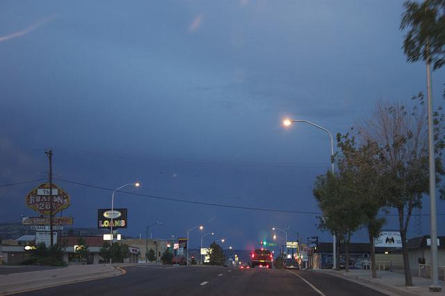 random Route 66 town