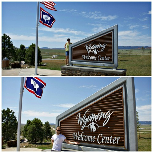 Wyoming State Line