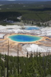 Grand prismatic overlook hike
