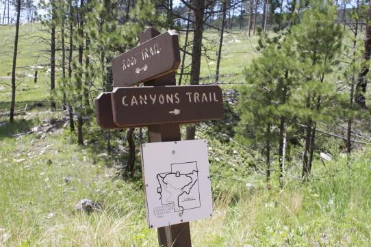 Canyons Trail Trailhead