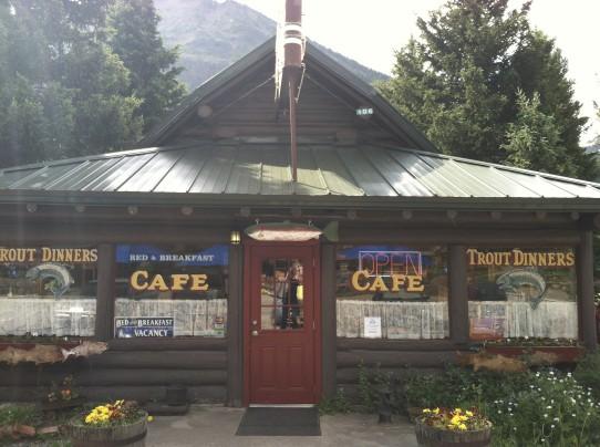 Log Cabin Cafe Silver Cafe