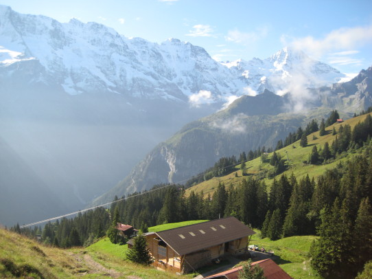 Swiss Alp Hike