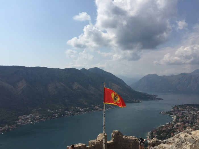 Top of Kotor Walls