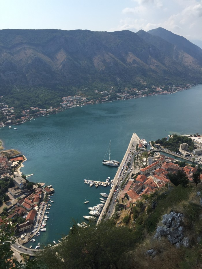 View from top of Kotor