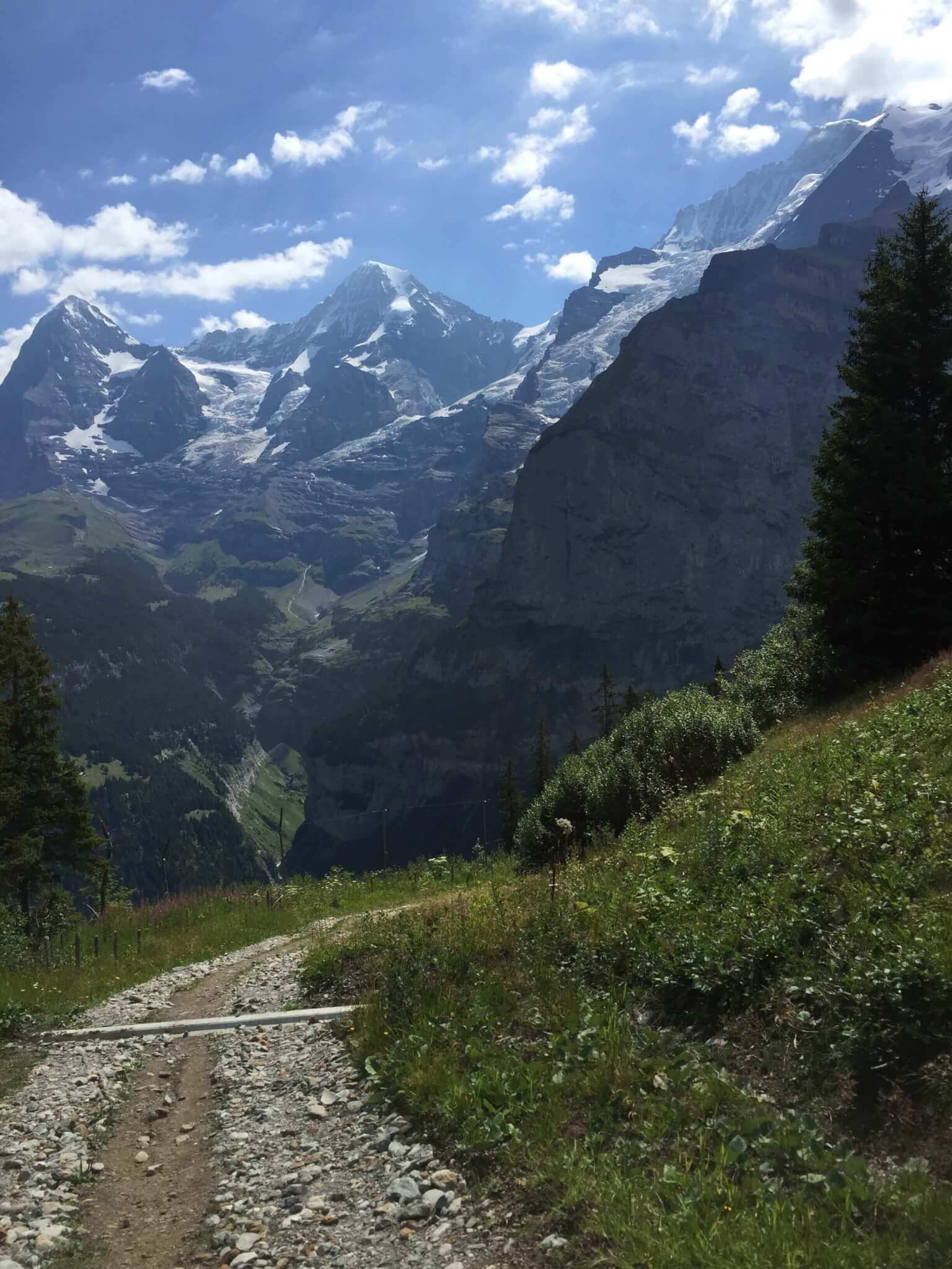 Gravel Trail - Murren