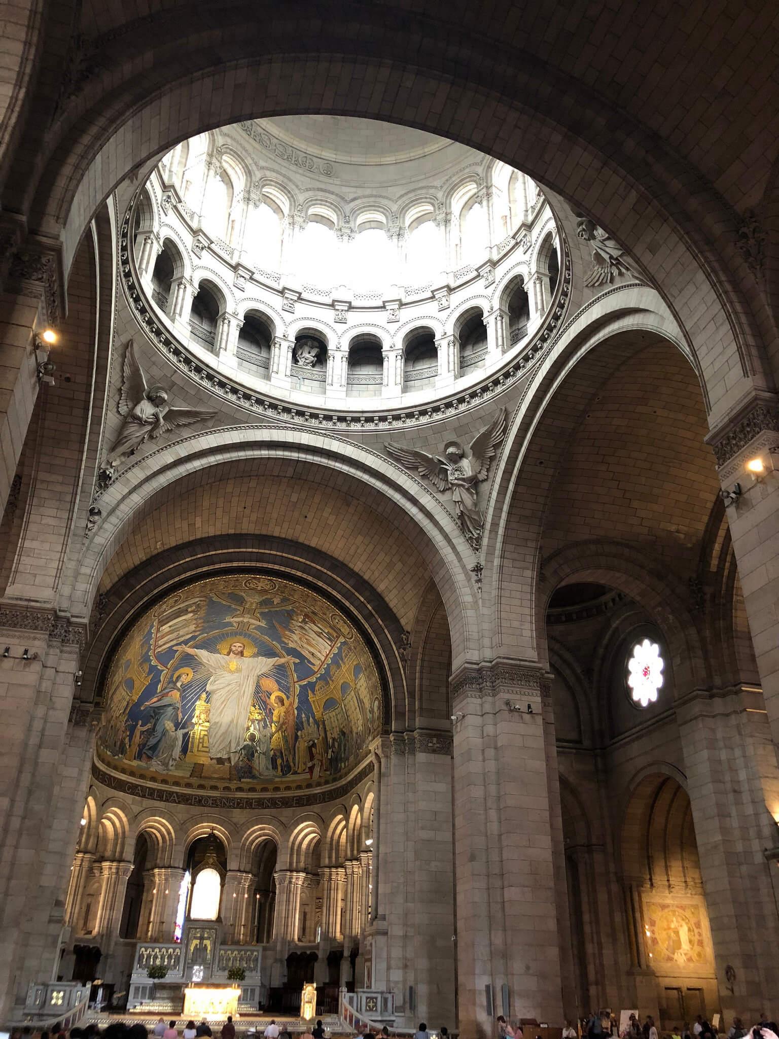 Inside Sacré-Cœur, Paris - Montmarte
