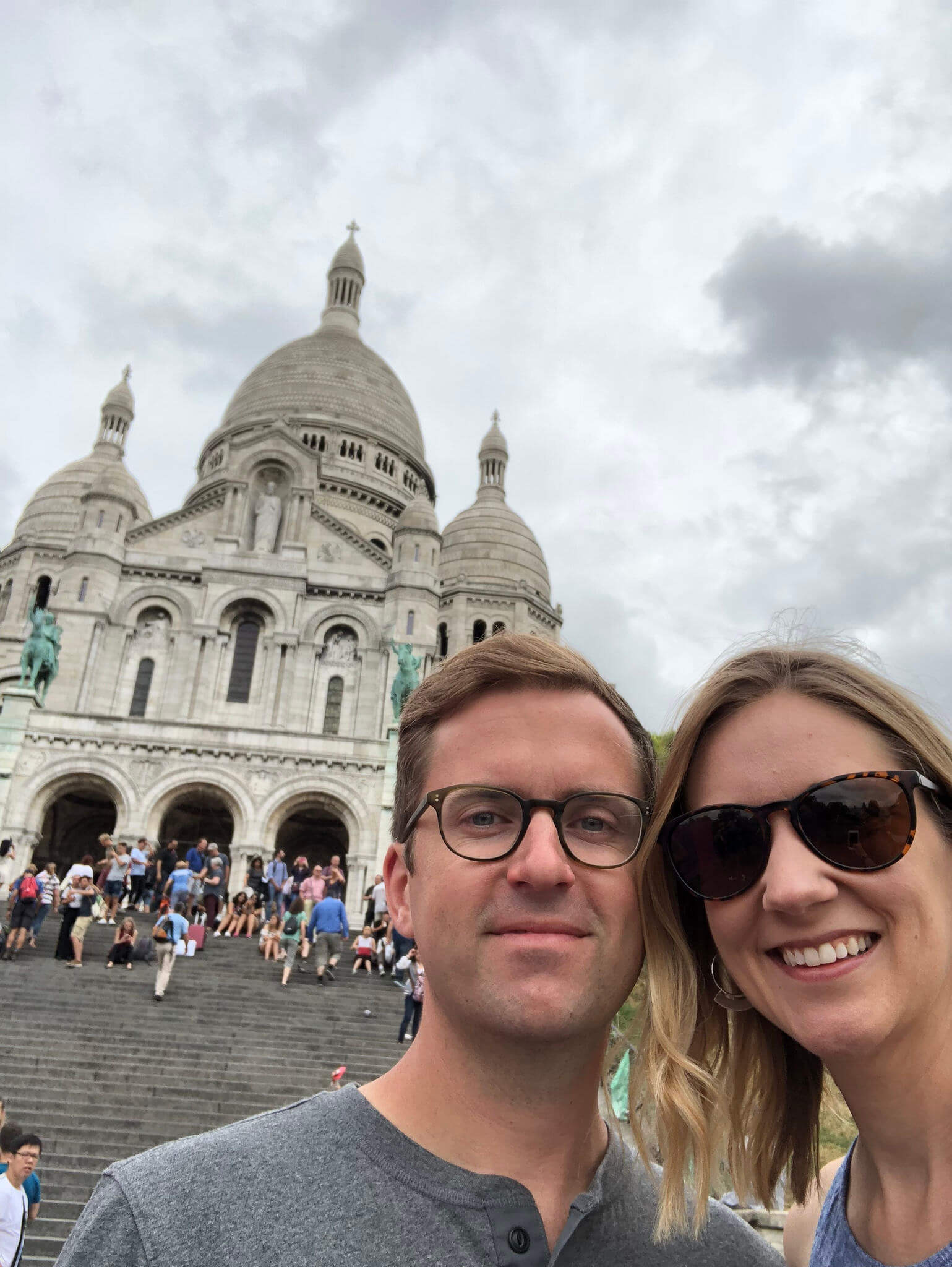 Mark and Christy - Sacré-Cœur, Montmarte