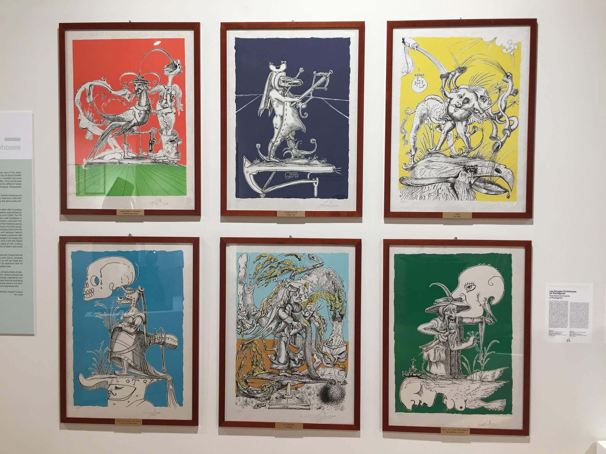 Salvador Dali Exhibit Paris