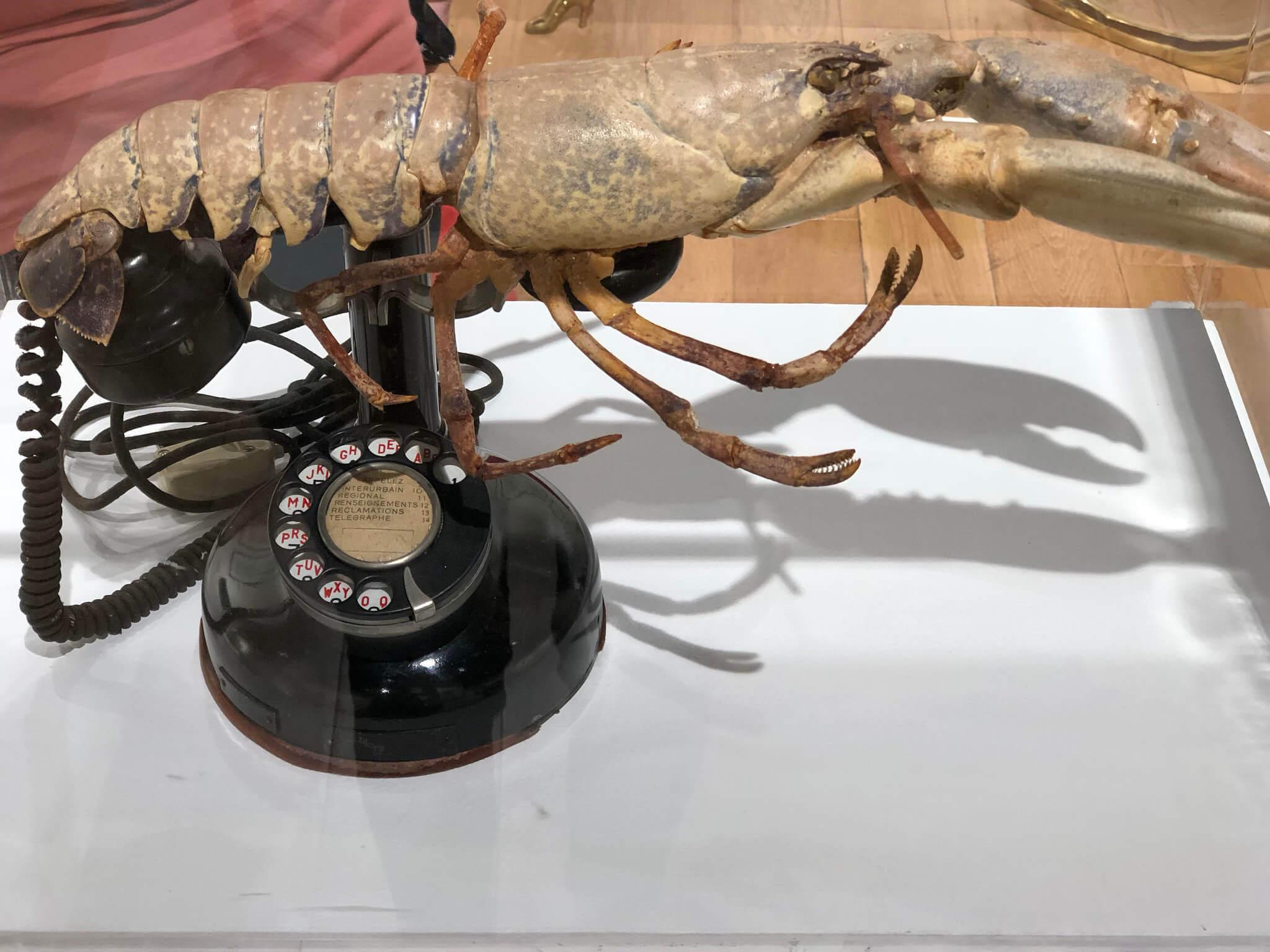 Salvador Dali Lobster Phone