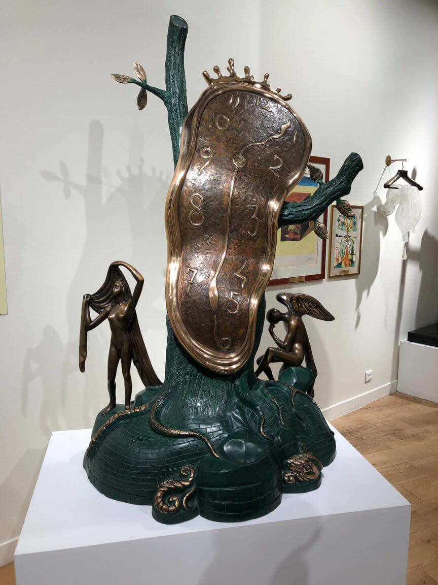Salvador Dali - Melting Clocks - Paris France