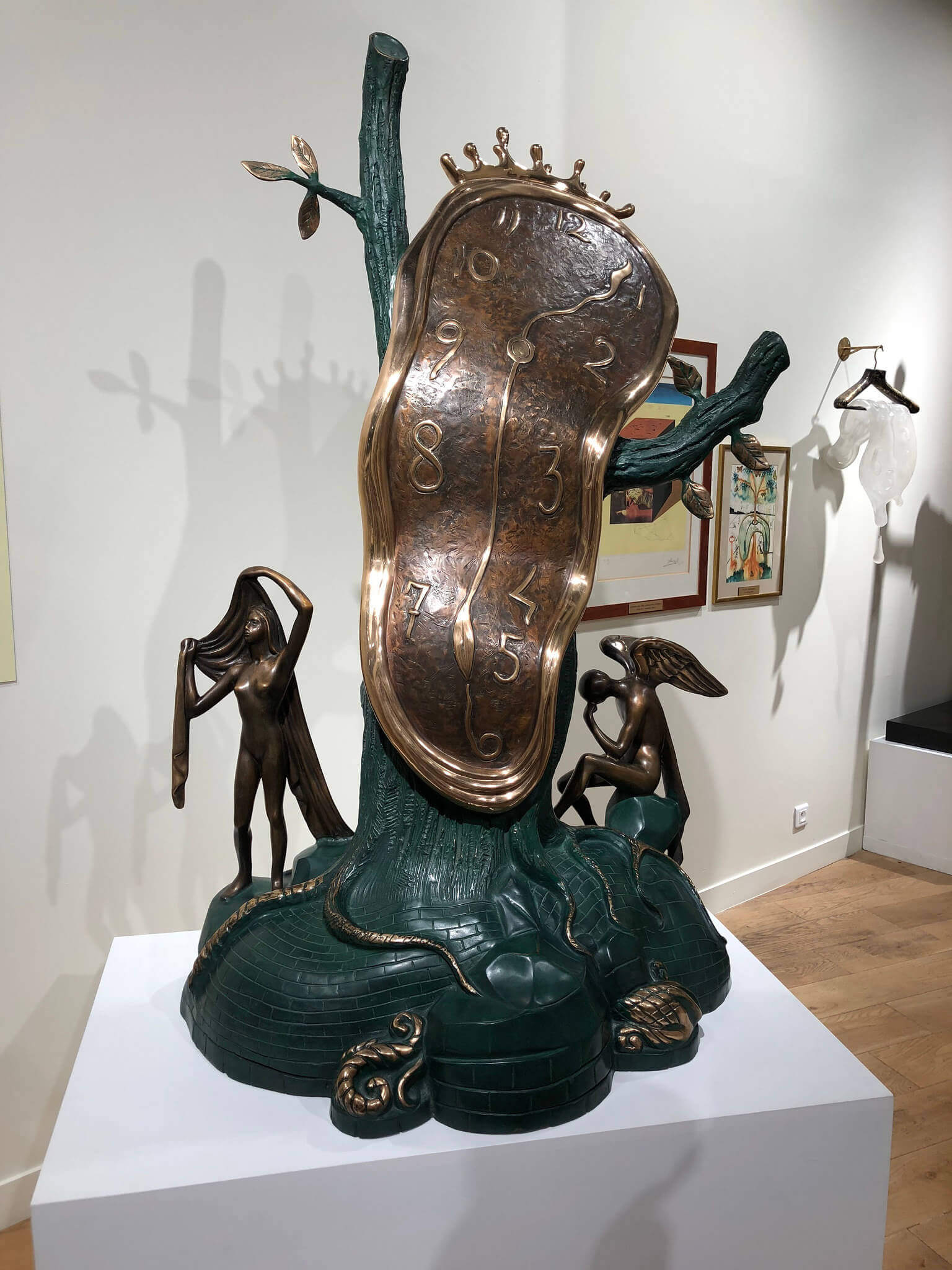 Salvador Dali - Melting Clocks - Paris France