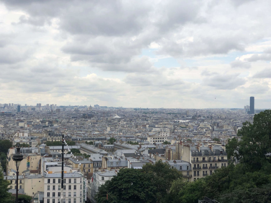 View from Sacré-Cœur, Paris